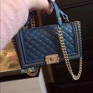 Chanel old medium leboy handbag
